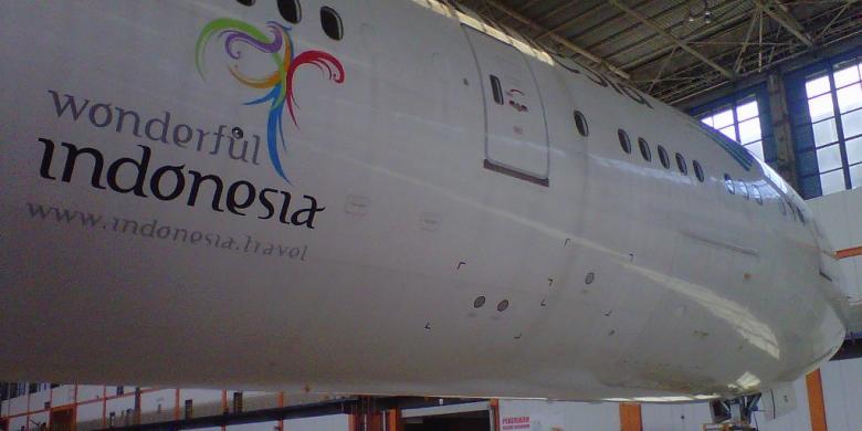 Garuda Garap Potensi Penerbangan Langsung India Indonesia Kompas Com