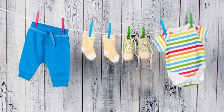 1355341shutterstock 134864636780x390 cara mudah hilangkan noda di baju bayi kompas com,Foto Pakaian Bayi