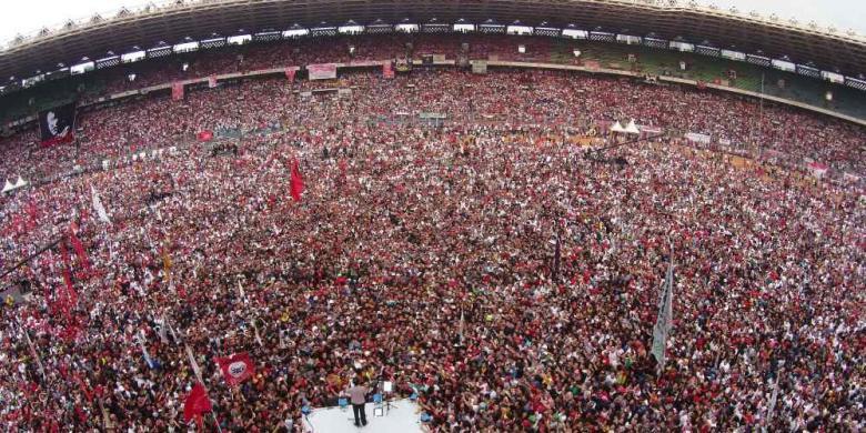 Pelantikan Jokowi-JK, 100 Ribu Relawan Akan Padati Monas