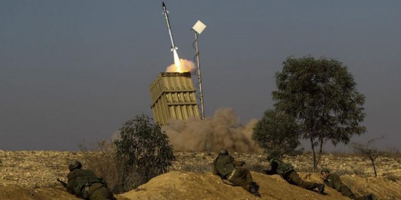 """Israel Klaim Tembak Jatuh """"Drone"""" Milik Hamas"""