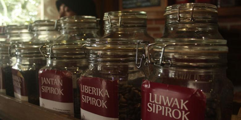 kopi khas kecamatan sipirok tapanuli bagian selatan sumatera utara