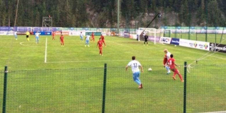 Internasional Liga Indonesia  - Skor Akhir Lazio vs Indonesia U23, Kekalahan Kedua Di Tur Italia