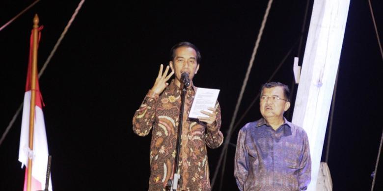 Jokowi Pidato di Geladak Kapal, Pengusaha Pelayaran Senang