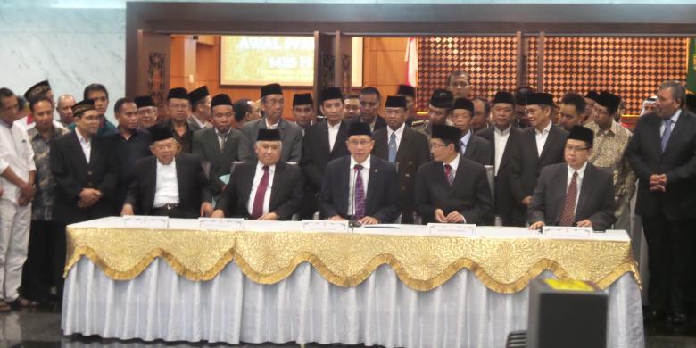 PEMERINTAH INDONESIA TETAPKAN IDHUL FITRI 1435 HIJRIAH 28 JULI 2014, AMERIKA & INGGRIS 29 JULI