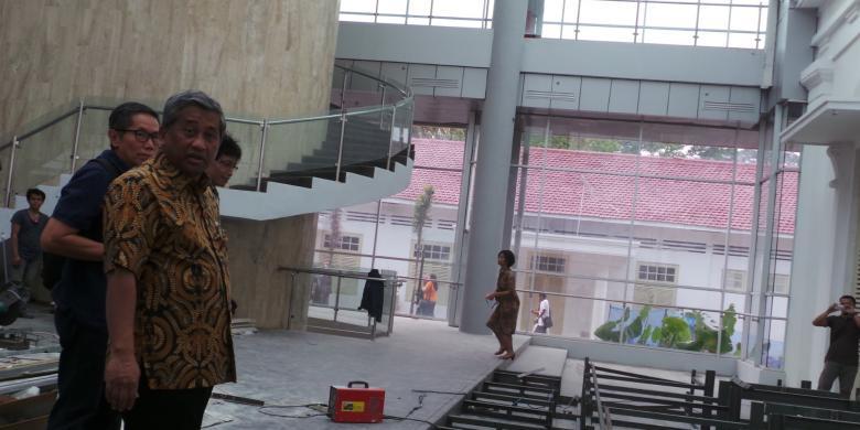 Kirti atau museum kepersidenan di istana bogor, minggu (3/8/2014