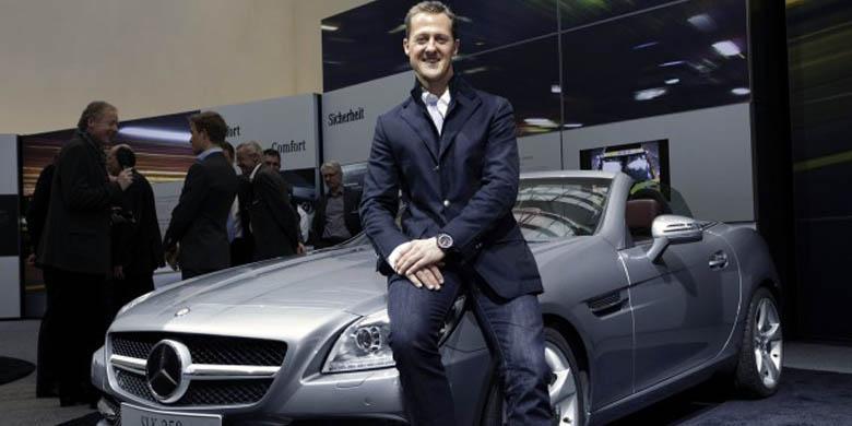 Mercedes benz tak putus harapan buat schumacher for Mercedes benz brand ambassador