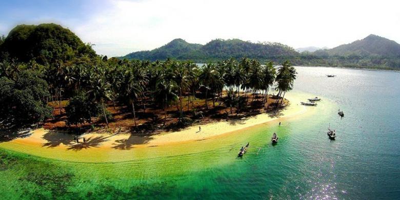 Pasumpahan Pulau Terindah Di Sumatera Barat Kompas Com
