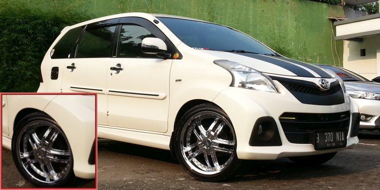 Daihatsu Xenia Modifikasi Memakai Velg IMPUL 401 R16