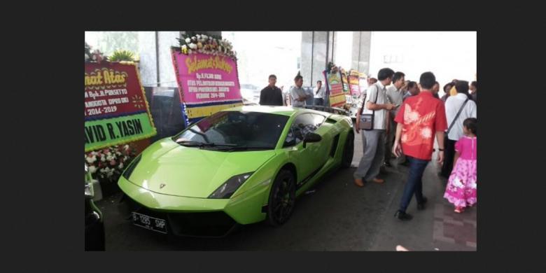 Kost Sudirman Thamrin Haji Lulung Parkir Lamborghini Di