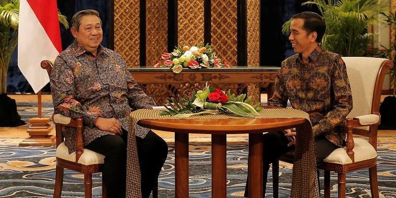 SBY Bertemu Koalisi Merah Putih, Ini Komentar Jokowi