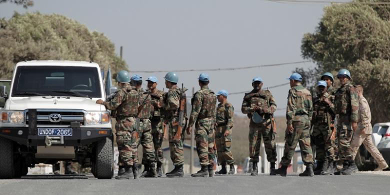 Filipina Minta Komandan Pasukan PBB di Golan Diperiksa