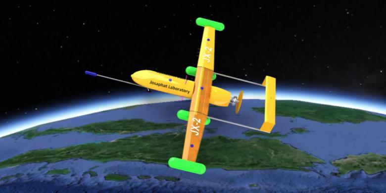 """Pakar UAV Dunia Tawarkan """"Drone"""" Garuda Khusus untuk Indonesia"""