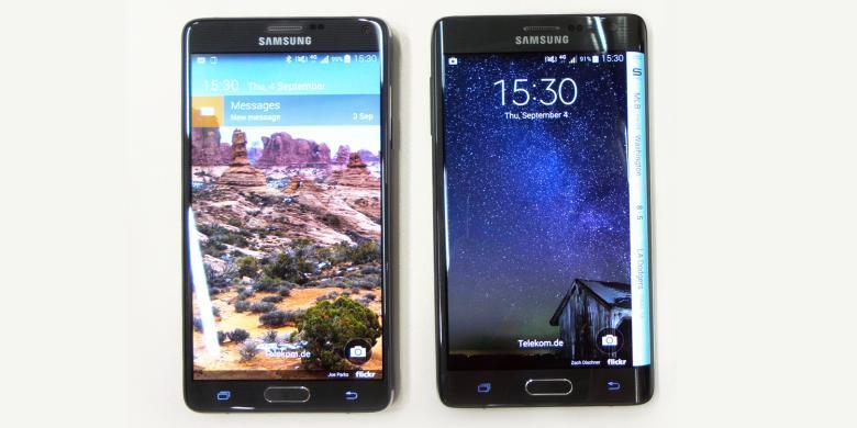 Spesifikasi Nyaris Sama, Pilih Galaxy Note 4 atau Note Edge?
