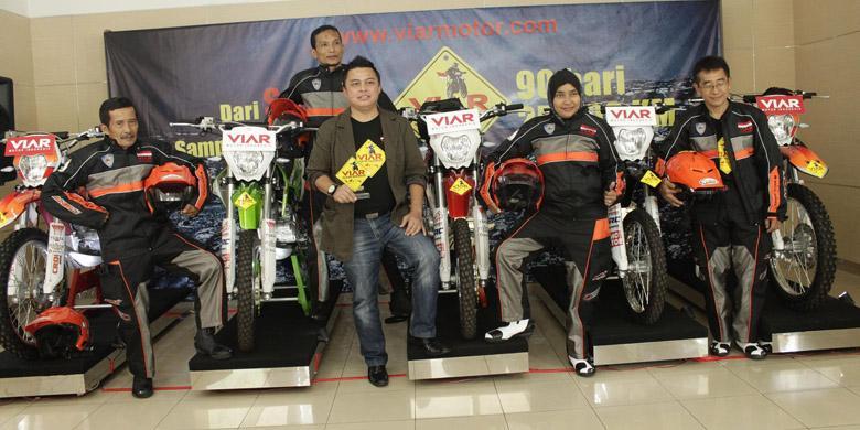 indonesia 2014 akan menguji sepeda motor trail buatan indonesia dari