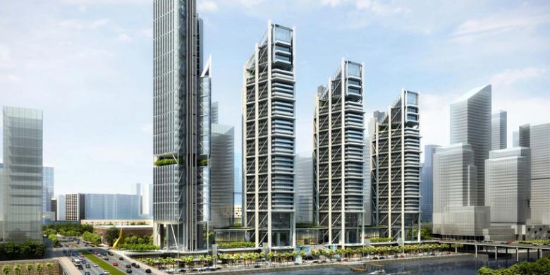 gambar gedung mewah