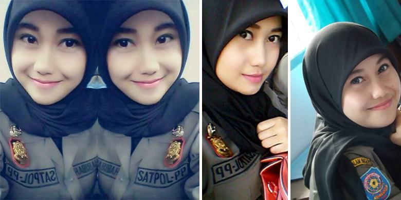 www.rumahcloteh.com Jagad maya saat ini sedang digegerkan dengan anggota Satpol PP cantik yang berdinas di Provinsi Banten. Tak hanya mengenakan seragam Satpol PP, sesekali dia memakai pakaian non formal di akun Facebook miliknya.