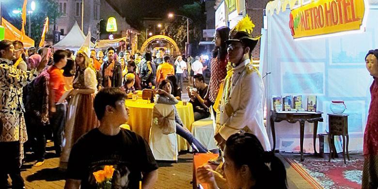 Pasar Sentiling Festival Kota Lama Semarang 2016 Digelar Lebih Meriah