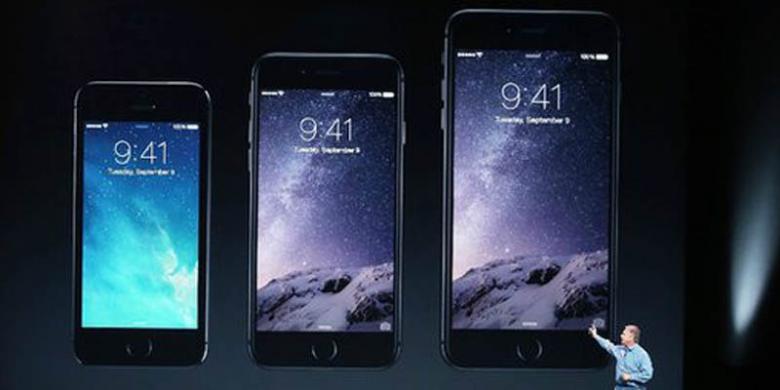 Tiga Hari Duo IPhone 6 Terjual 10 Juta Unit