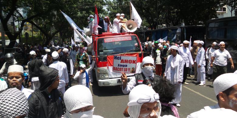 Ada Demo Fpi Arus Lalu Lintas Kebon Sirih Dialihkan Ke Jalan Sabang