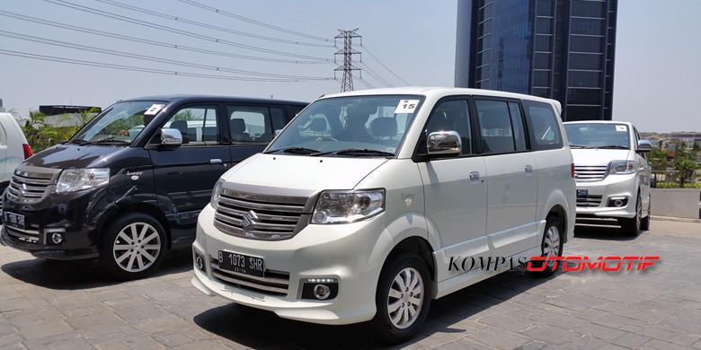 Jajal Jalan Mundur Suzuki New APV Luxury