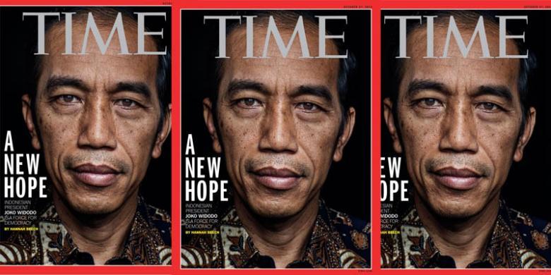 Hasil Sementara Tokoh Pilihan Pembaca 'Time', Jokowi Ungguli Obama