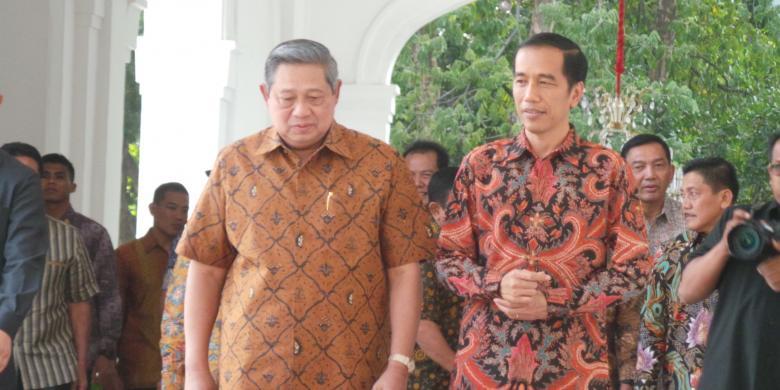 Jokowi-SBY Tercatat Sudah Lima Kali Bersinggungan Politik