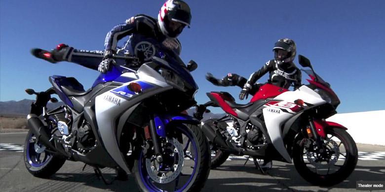 Video Komedi Yamaha R3 di AS untuk Promosi