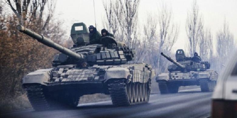 NATO: Pasukan Rusia Masuk Ukraina