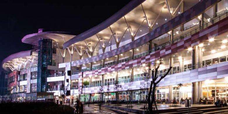 Bintaro Xchange Shopping Mall, Bintaro Jaya, Tangerang Selatan.-CopyrightKompas-dokumen Bintaro Xchange