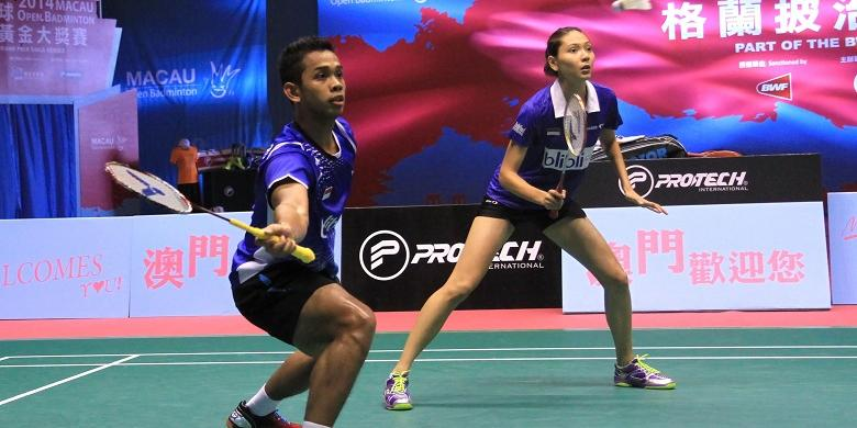 Edi/Gloria Lolos ke Perempat Final China Masters