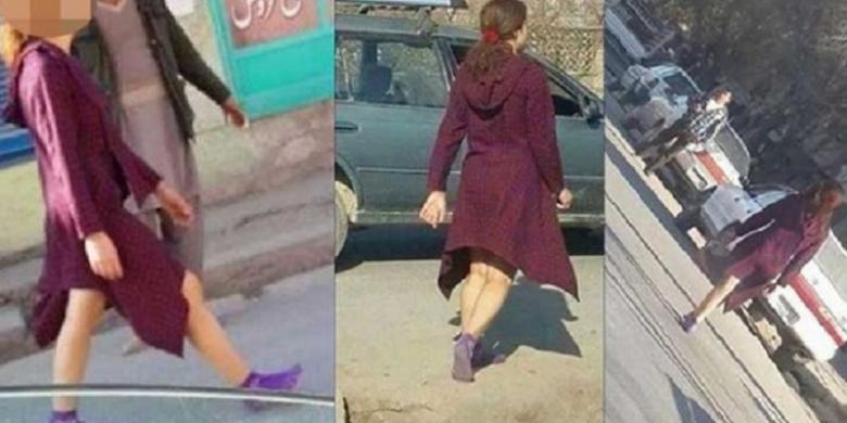 Cara Berpakaian Wanita Ini Bikin Warga Kota Kabul Terkaget-kaget