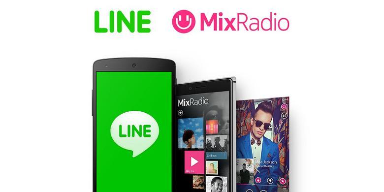 Dibeli dari Microsoft, MixRadio Mati di Tangan Line