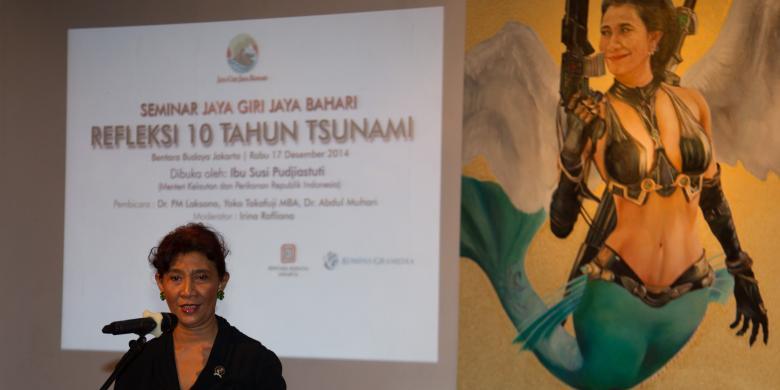 Menteri Susi: KKP Bukan Kementerian Buangan