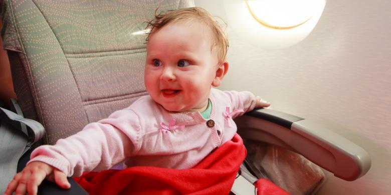 4 Kesalahan Orangtua Saat Membawa Bayi Naik Pesawat