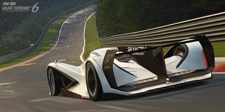 """Konsep """"Bengis"""" Mazda untuk Meriahkan Gran Turismo"""