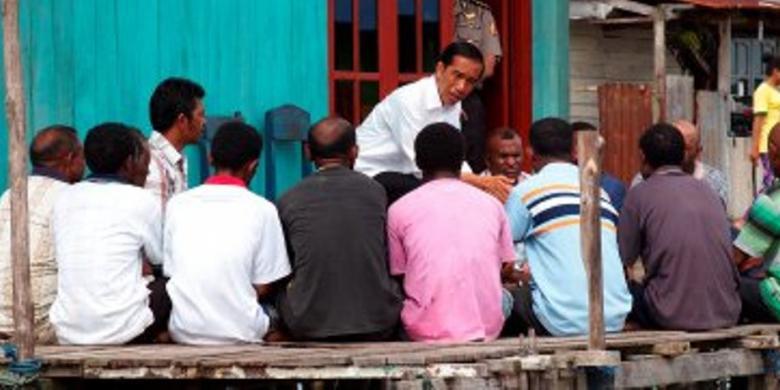 Pernyataan Dramatis Jokowi di Papua