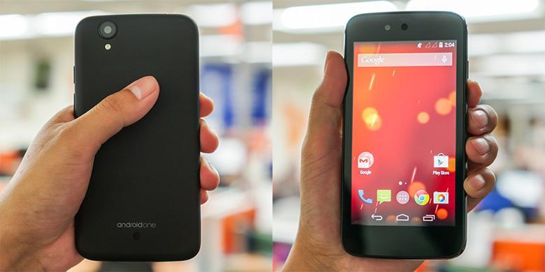 Menjajal Smartphone Murah Android One di Jakarta