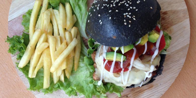 Makanan Warna Hitam Bakal Jadi Tren Kuliner 2017