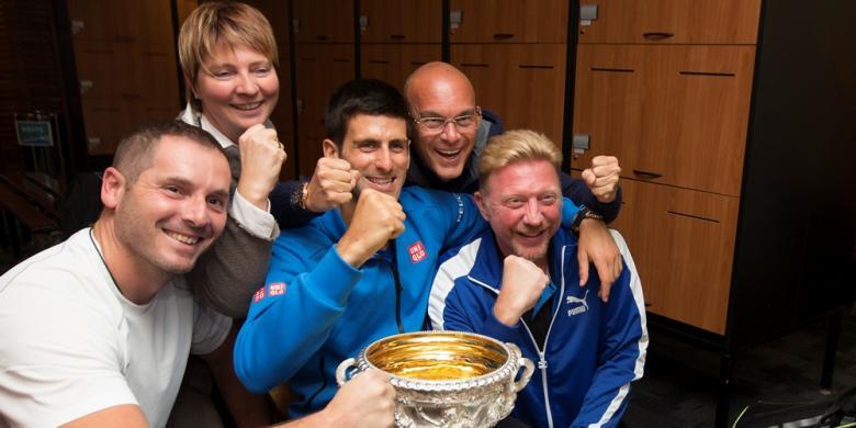 Djokovic Berpisah Dengan Becker