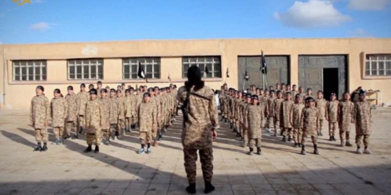 ISIS Rilis Video Kamp Pelatihan Militer Anak-anak
