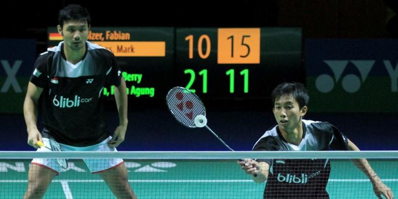 Berry/Rian Hadapi Unggulan Kedua di Perempat Final Jerman Terbuka