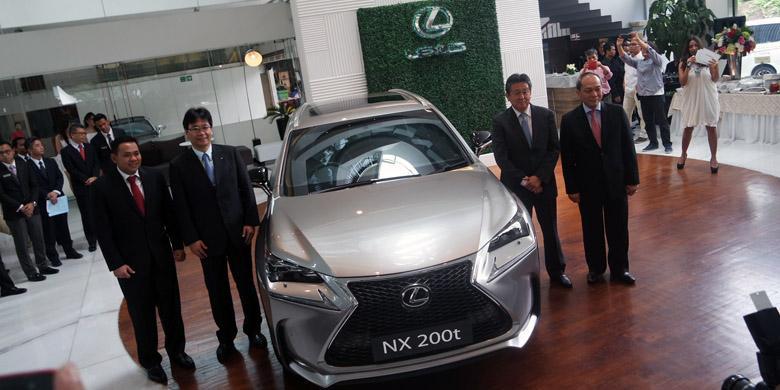 SUV Termurah Lexus Meluncur di Indonesia