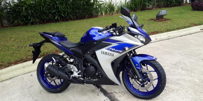 Yamaha R25 ABS Bakal Hadir Dengan Warna Merah Dan Hitam