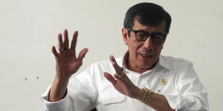 Hak Angket Menyasar Jokowi, Pemicunya Yasonna. Menkumham tak Lapor Jokowi?