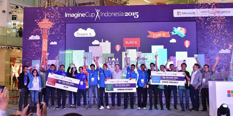 Ini Tiga Tim Pemenang Imagine Cup 2015 Indonesia