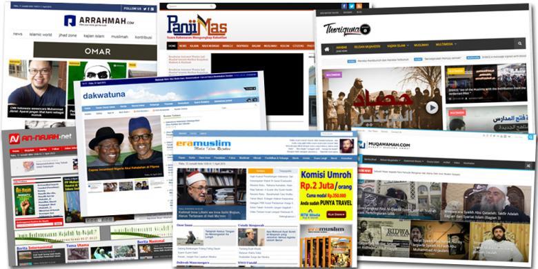 Situs yang diblokir pemerintah, ( sumber kompas.com)
