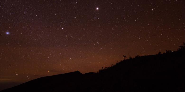 Pilihan Daerah Untuk Mengamati Fenomena Bintang Di Langit