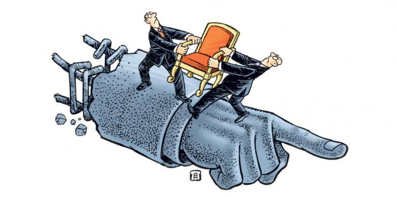 demokrasi dan partai politik kompas com