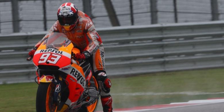 Lima Putaran Berharga bagi Marquez
