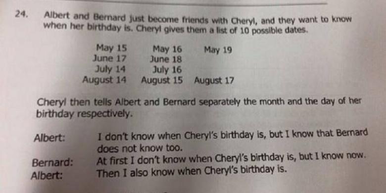 Soal Matematika Siswa Singapura Gegerkan Dunia, Bisakah Anda Menjawabnya?